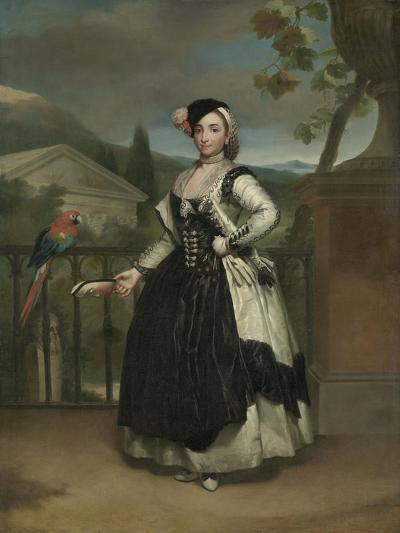 Portrait of Isabel Parreno Arce And, Marquesa De Llano, C.1771-2-Anton Raphael Mengs-Giclee Print