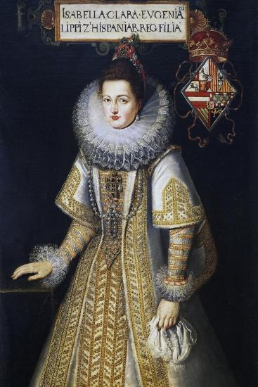 Portrait of Isabella of Austria--Giclee Print
