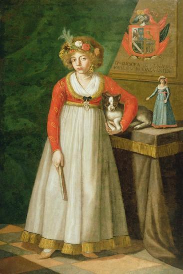 Portrait of Isidore, 1810--Giclee Print