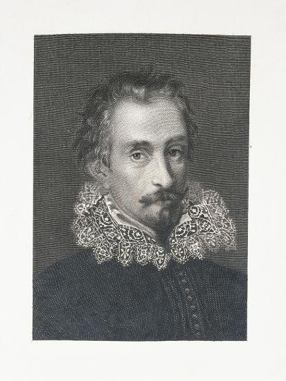 Portrait of Italian Writer Alessandro Tassoni--Giclee Print
