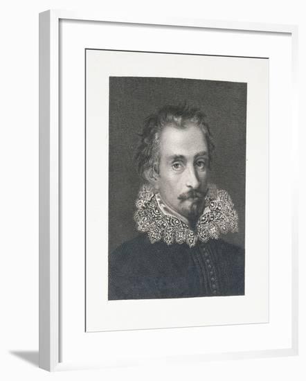 Portrait of Italian Writer Alessandro Tassoni--Framed Giclee Print