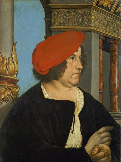 Portrait of Jacob Meyer Zum Hasen, Mayor of Basle, 1516-Hans Holbein the Younger-Giclee Print