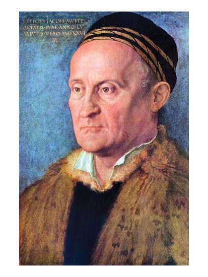 Portrait of Jacob Muffel-Albrecht D?rer-Art Print