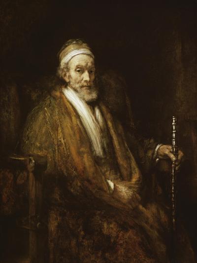 Portrait of Jacob Trip-Rembrandt van Rijn-Giclee Print