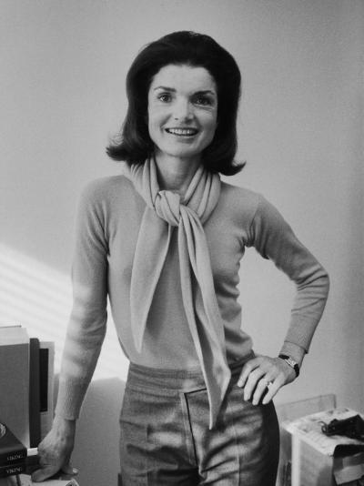 Portrait of Jacqueline Bouvier Kennedy Onassis-Alfred Eisenstaedt-Premium Photographic Print