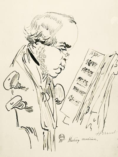 Portrait of Jacques Fromental Elie Levy, known as Halevy--Giclee Print