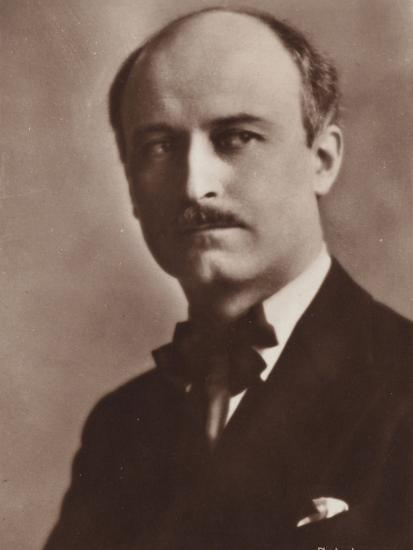 Portrait of Jacques Ibert--Photographic Print