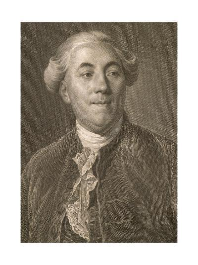 Portrait of Jacques Necker--Giclee Print