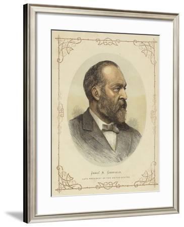Portrait of James a Garfield--Framed Giclee Print