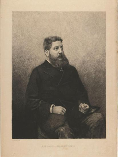Portrait of James-Edouard De Rothschild (1844-188), 1870S-Daniel Charles Marie Mordant-Giclee Print