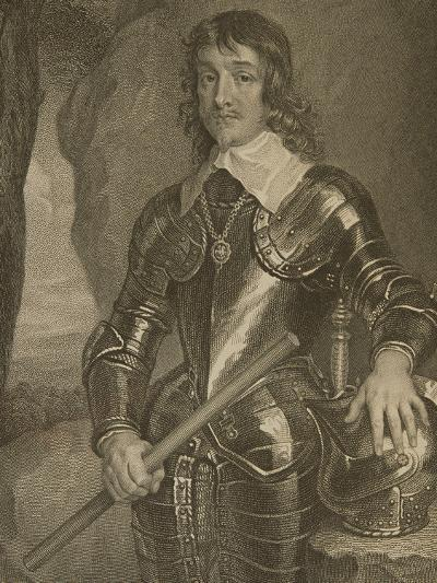 Portrait of James Hamilton (1606-49) 3rd Marquis and 1st Duke of Hamilton--Giclee Print