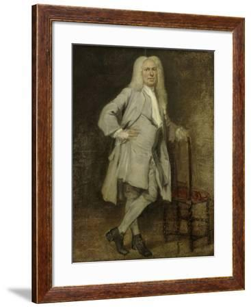 Portrait of Jan Lepeltak, Timber Merchant in Amsterdam-Cornelis Troost-Framed Art Print