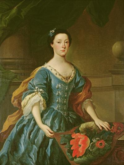 Portrait of Jane Allgood, C.1745-50--Giclee Print