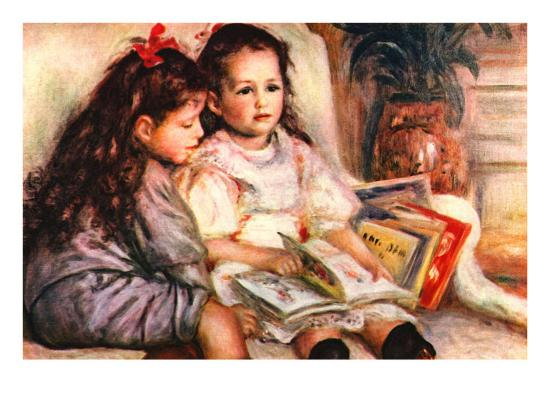 Portrait of Jean and Genevieve Caillebotte-Pierre-Auguste Renoir-Art Print