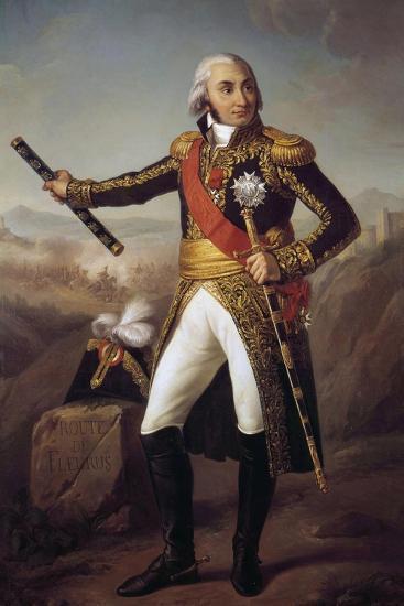 Portrait of Jean Baptiste, Comte Jourdan by Eugene-Louis Charpentier--Giclee Print