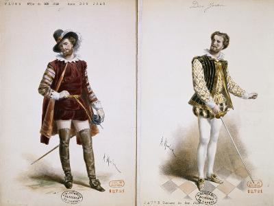 Portrait of Jean Baptiste Faure'--Giclee Print
