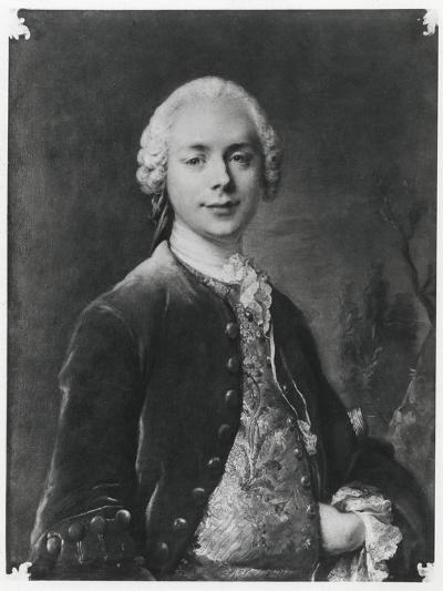 Portrait of Jean Baptiste Louis Gresset-Louis M^ Tocque-Giclee Print