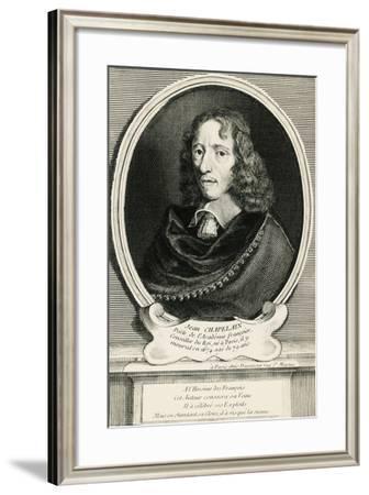 Portrait of Jean Chapelain--Framed Giclee Print