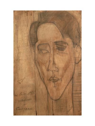 Portrait of Jean Cocteau-Amedeo Modigliani-Giclee Print