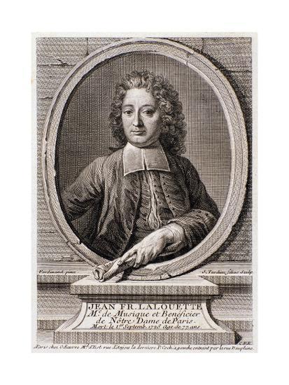 Portrait of Jean Francois Lalouette--Giclee Print