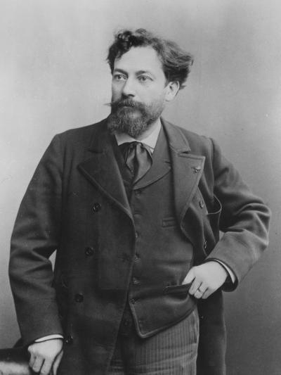 Portrait of Jean François Victor Aicard, 1890--Photographic Print
