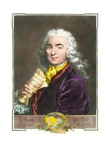 Portrait of Jean-Marie Leclair (1697-1764)