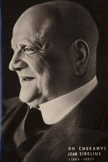 Portrait of Jean Sibelius--Photographic Print