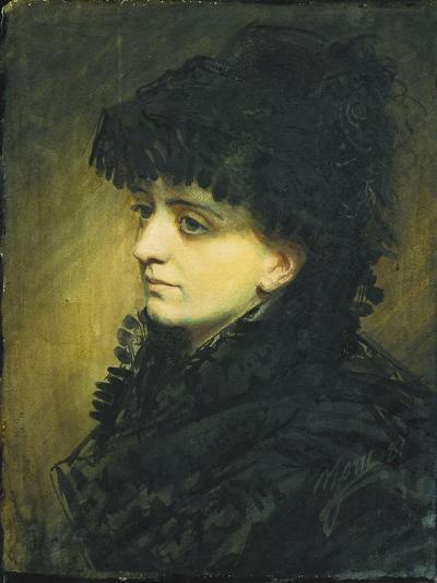 Portrait of Jeanna Heijkenskjold, 1881-Anders Leonard Zorn-Giclee Print