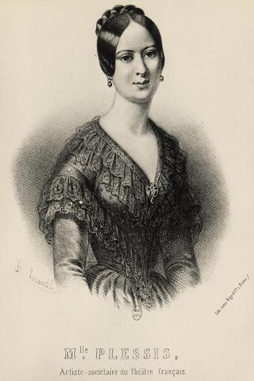 Portrait of Jeanne Arnould-Plessy--Giclee Print
