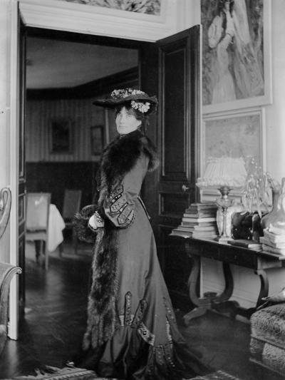 Portrait of Jeanne Pontillon--Photographic Print
