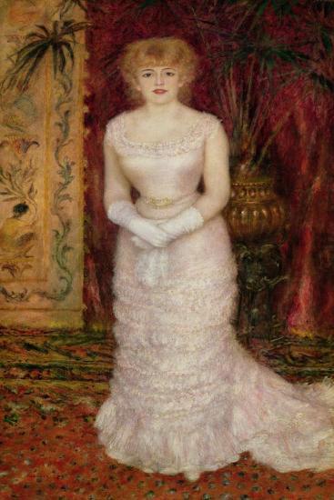 Portrait of Jeanne Samary (1857-90) 1878-Pierre-Auguste Renoir-Giclee Print