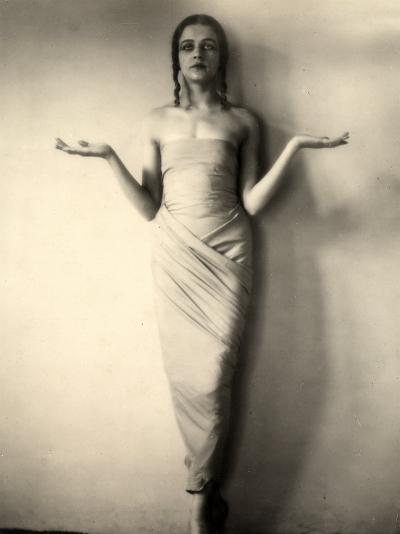 Portrait of Jia Ruskaja, Prima Ballerina of the Teatro Della Scala in Milan--Photographic Print