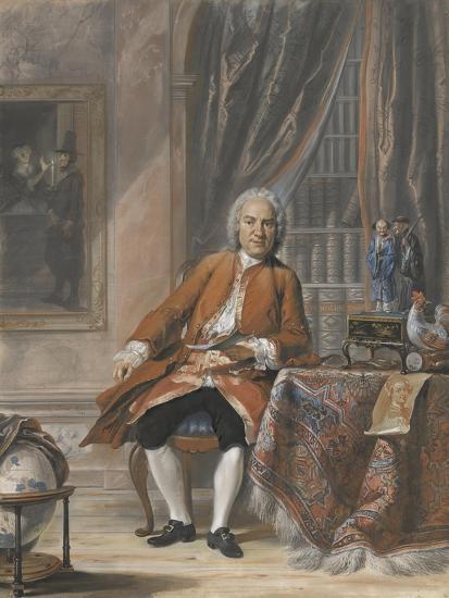 Portrait of Joan Jacob Mauricius, Governor-General of Suriname-Cornelis Troost-Art Print