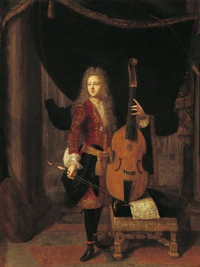 Portrait of Johan Schenk--Giclee Print