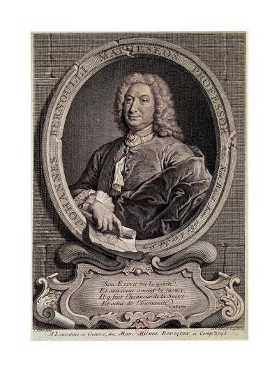 Portrait of Johann Bernouilli--Giclee Print