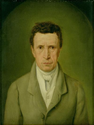 Portrait of Johann Friedrich Nikolaus Oldach (1773-1849) 1824-Julius Oldach-Giclee Print