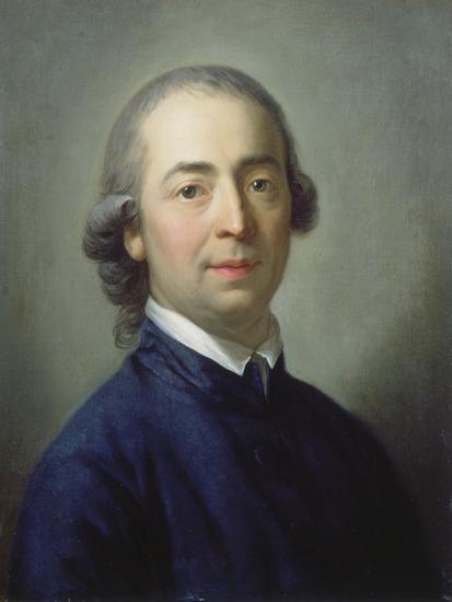 Portrait of Johann Gottfried Von Herder (1744-1803), 1785-Anton Graff-Giclee Print