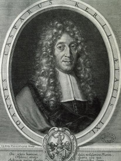 Portrait of Johann Kaspar Kerll--Giclee Print