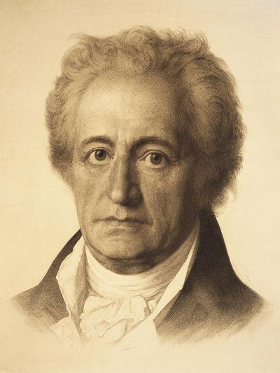 Portrait of Johann Wolfgang Von Goethe--Giclee Print