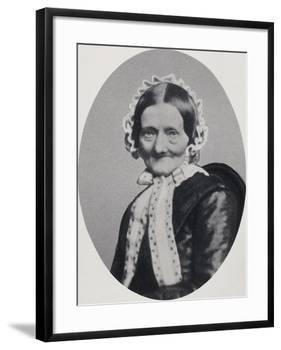 Portrait of Johanna Henrika Christiane Nissen-null-Framed Giclee Print
