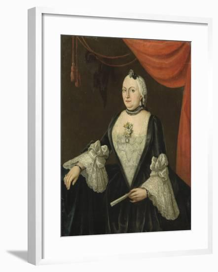 Portrait of Johanna Van Rijswijk-Isaac Lodewijk la Fargue van Nieuwland-Framed Art Print