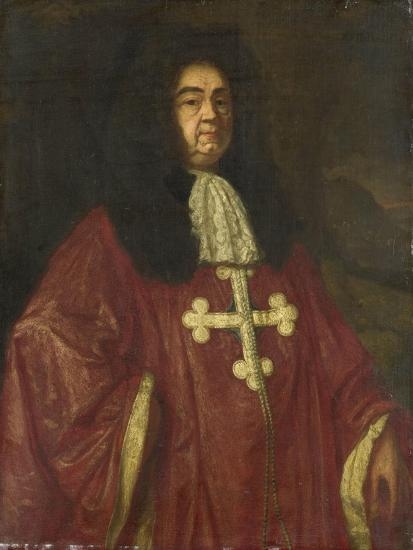 Portrait of Johannes Camprich Van Cronefelt-Simon Ruys-Art Print