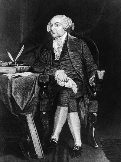 Portrait of John Adams--Giclee Print