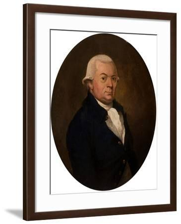 Portrait of John Brand--Framed Giclee Print