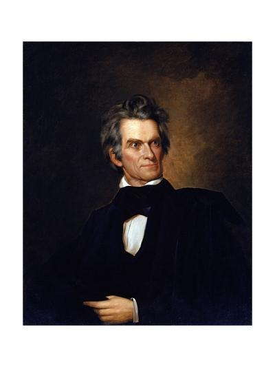 Portrait of John C. Calhoun, United Stated Secretary of State by George Peter Alexander Healy--Giclee Print