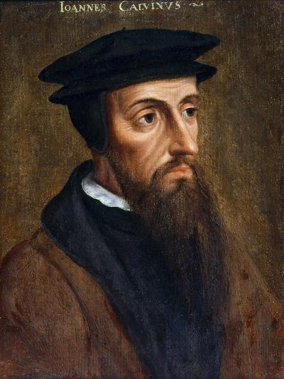 Portrait of John Calvin--Giclee Print