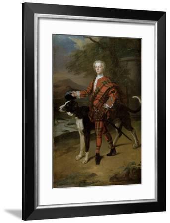Portrait of John Campbell (1696-1782) Lord Glenorchy, Later 3rd Earl of Breadalbane, 1720s-Enoch Seeman-Framed Giclee Print