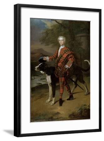 Portrait of John Campbell (1696-1782) Lord Glenorchy, Later 3rd Earl of Breadalbane, 1720s-Enoch Seeman-Framed Giclee Print