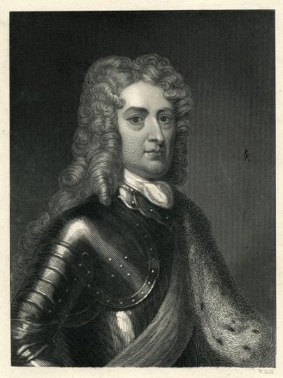 Portrait of John Churchill, 1st of Duke of Marlborough (1650-1722)--Giclee Print