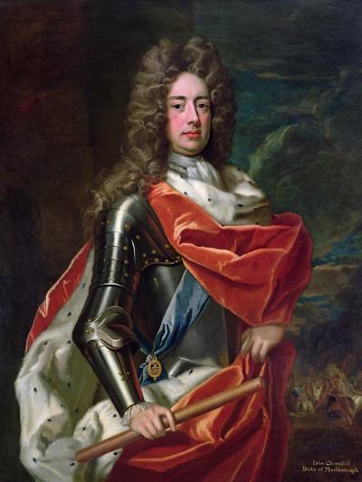Portrait of John Churchill-Godfrey Kneller-Giclee Print